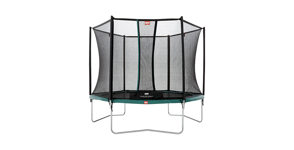 Berg Trampoline Talent Regular + Safety Net Comfort Adopter Une Technologie De Pointe