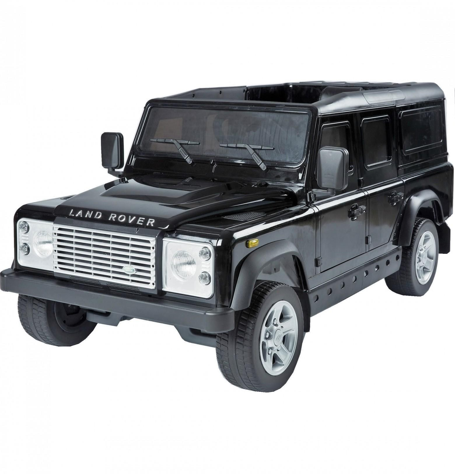 licensed land rover defender ride on car kids electric. Black Bedroom Furniture Sets. Home Design Ideas