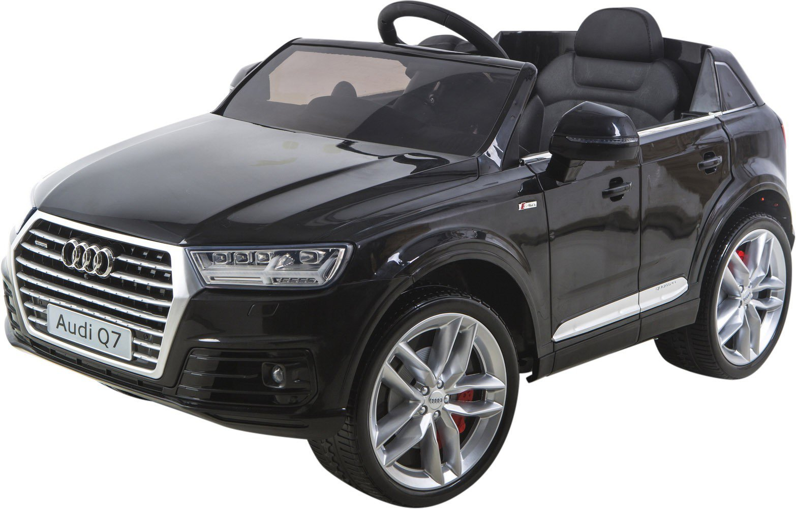 audi q7 4 2 tdi quattro 2017 model 12v kids electric car ebay. Black Bedroom Furniture Sets. Home Design Ideas