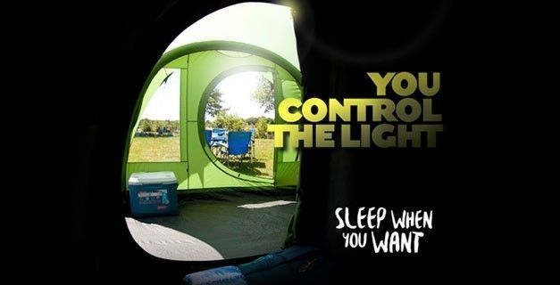 Introducing Coleman's New Blackout Bedroom® Tents