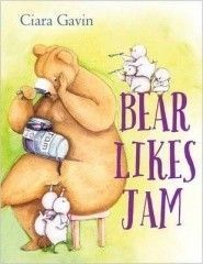 Bear Likes Jam picture book