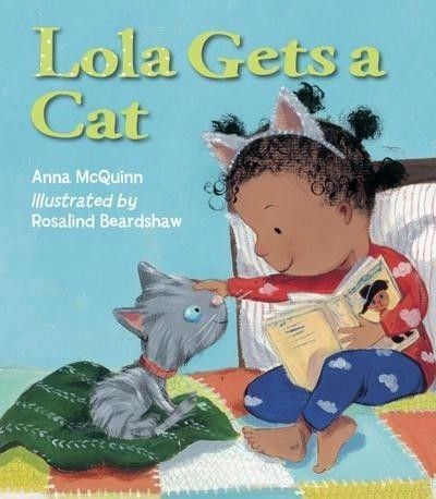 Lola Gets a Cat picture book