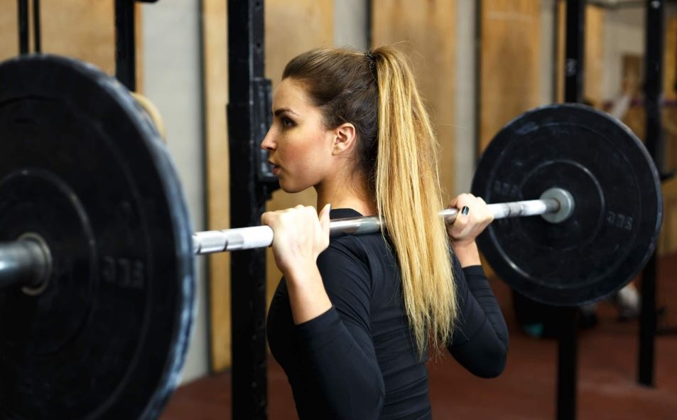 High Ponytail - What to do with Long Hair When Working Out