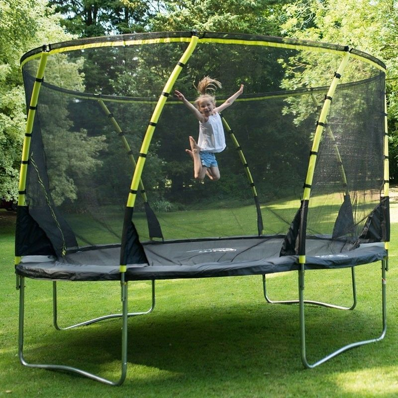 Plum 8ft Whirlwind Trampoline and Enclosure