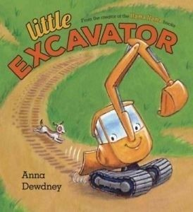 Little Excavator picture book