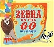 Zebra on the Go picture book