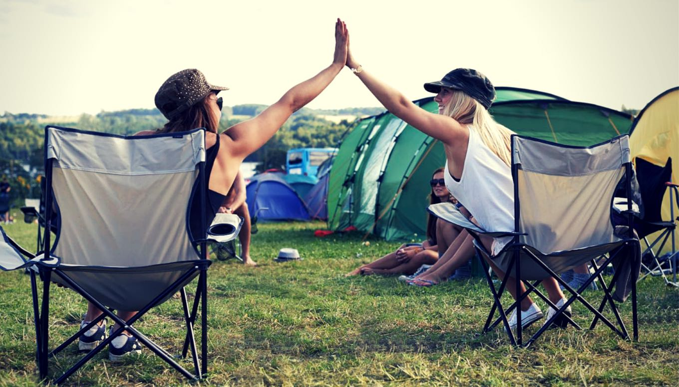 Surviving Festival Camping